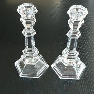 Tiffany candle sticks